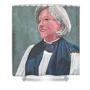 Reverend Mary Gregorius Shower Curtain