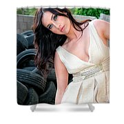 Reverie Palm Springs Shower Curtain