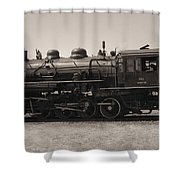 Reverse Throttle Shower Curtain