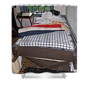 Revolutionary War Bedroom Shower Curtain