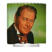 Rex Harrison, Actor Shower Curtain