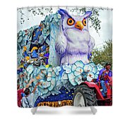 Rex Mardi Gras Parade Iv Shower Curtain