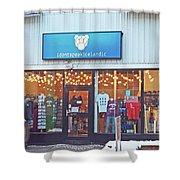 Reykjavik Shopping With A Sense Of Humor Iceland 2 3122018_j2301.jpg Shower Curtain