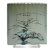 Rfb0206-2 Shower Curtain