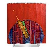 Rfb0302 Shower Curtain by Robert F Battles
