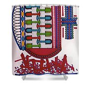 Rfb0409 Shower Curtain