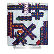 Rfb0415 Shower Curtain