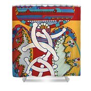 Rfb0424 Shower Curtain
