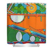 Rfb0425 Shower Curtain