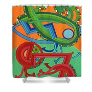Rfb0430 Shower Curtain