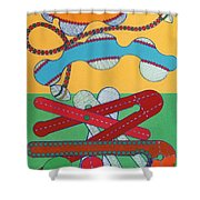 Rfb0433 Shower Curtain