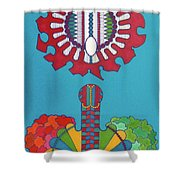 Rfb0434 Shower Curtain