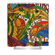 Rfb0513 Shower Curtain