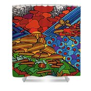 Rfb0522 Shower Curtain