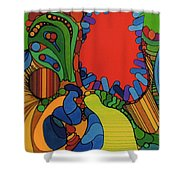 Rfb0527 Shower Curtain