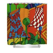 Rfb0529 Shower Curtain