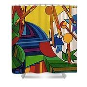 Rfb0532 Shower Curtain