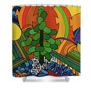 Rfb0534 Shower Curtain