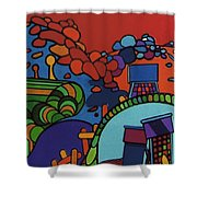 Rfb0548 Shower Curtain
