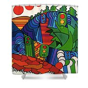 Rfb0549 Shower Curtain