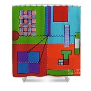 Rfb0552 Shower Curtain