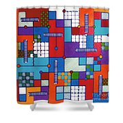 Rfb0565 Shower Curtain