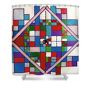 Rfb0574 Shower Curtain