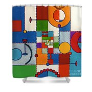 Rfb0575 Shower Curtain