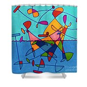 Rfb0579 Shower Curtain