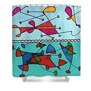 Rfb0580 Shower Curtain