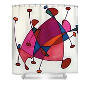 Rfb0584 Shower Curtain