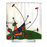 Rfb0585 Shower Curtain