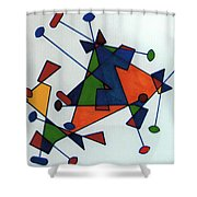 Rfb0586 Shower Curtain