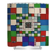 Rfb0646 Shower Curtain