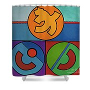 Rfb0719 Shower Curtain