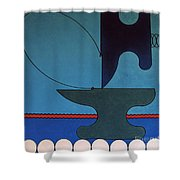 Rfb0905 Shower Curtain