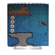 Rfb0908 Shower Curtain