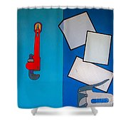 Rfb0911 Shower Curtain