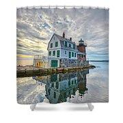 Reflection Dawn Shower Curtain