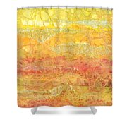 Rhapsody Of Colors 30 Shower Curtain by Elisabeth Witte - Printscapes