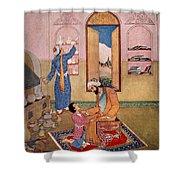 Rhazes, Islamic Polymath Shower Curtain