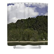 Rhenish Massif 01 Shower Curtain