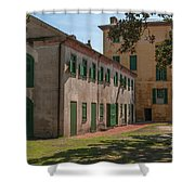 Rhett House Grounds Shower Curtain