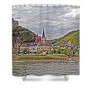 Rhine In Fall Shower Curtain