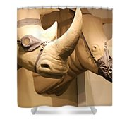 Rhinos Shower Curtain