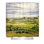 Rhode Island Coast Shower Curtain