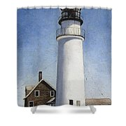 Rhode Island Lighthouse Shower Curtain