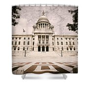 Rhode Island State House Shower Curtain