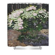 Rhododendron Shower Curtain