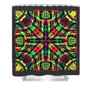 Rhotomic Shower Curtain